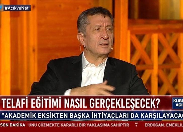 Milli Eğitim Bakanı Ziya Selçuk okulların açılacağı tarihi açıkladı