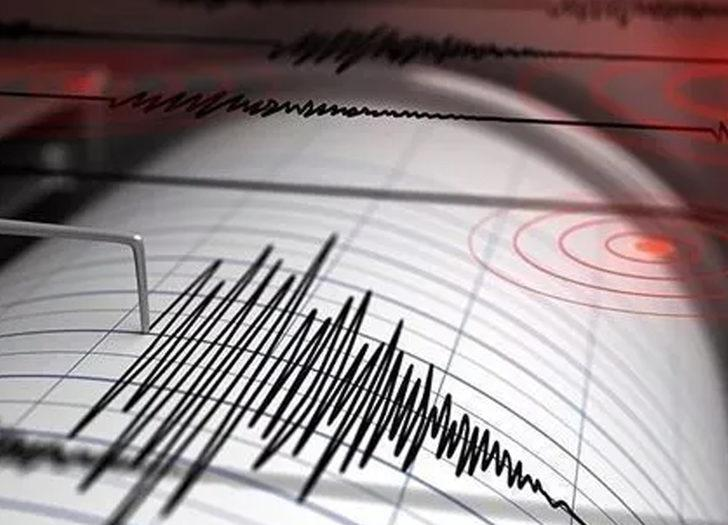 Ege Denizi'nde 3.9 büyüklüğünde korkutan deprem