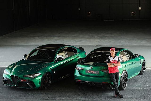 Kimi Raikkonen - Giulia GTA ve Giulia GTAm