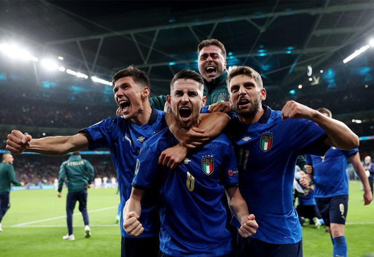 İtalya EURO 2020'de finale yükselen ilk takım oldu