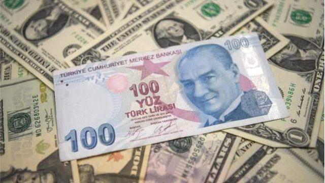 TL ve dolar banknot