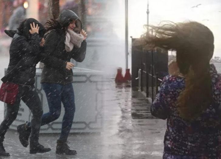 Meteorolojiden Marmara'nın doğusu için kuvvetli yağış uyarısı
