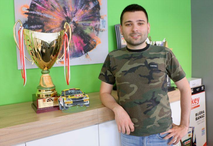 Türkiye Ralli Şampiyonası'nın lideri Buğra Banaz'ın aklı şampiyonlukta: