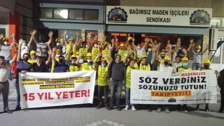 Tazminat haklarını arayan madenciler, trafik kazası geçirdi: 'Ankara'da verilen sözler tutulmadı'