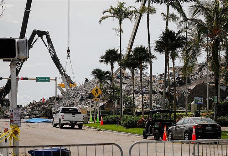 Miami'de çöken 13 katlı binada ölenlerin sayısı 78'e yükseldi