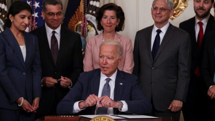 Biden'dan Ekonomide Rekabet Kararnamesi