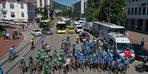 Ömer Halisdemir 5. Ulusal Bisiklet Turu'na katılan sporcular Bursa'ya geldi