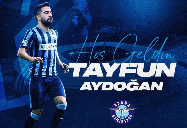 Tayfun Aydoğan Adana Demirspor'da