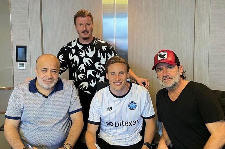 Adana Demirspor Jonas Svensson'u resmen açıkladı