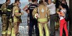 Üsküdar'da hastanede yangın paniği