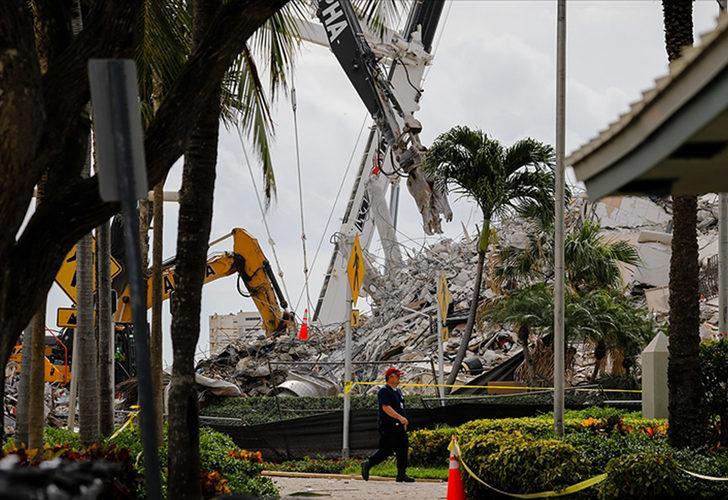 Miami'de çöken 13 katlı binada ölenlerin sayısı 90'a yükseldi
