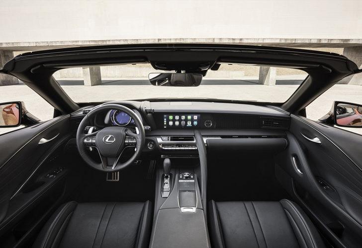 Lexus LC 500 Convertible Türkiye'de satışa sunuldu! Şu anda sadece 1 tane var