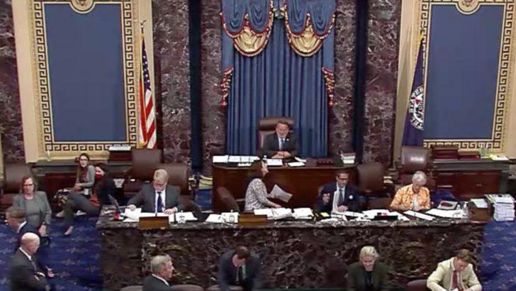 ABD Senatosu'nda Yoğun Altyapı Gündemi
