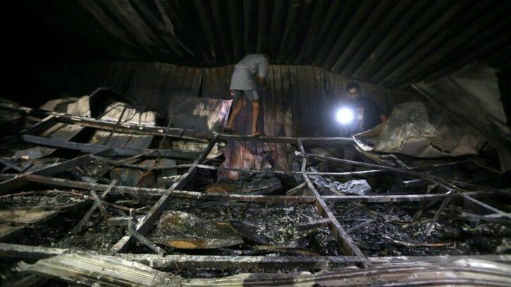 Irak'ta Salgın Hastanesinde Yangın: En Az 50 Ölü