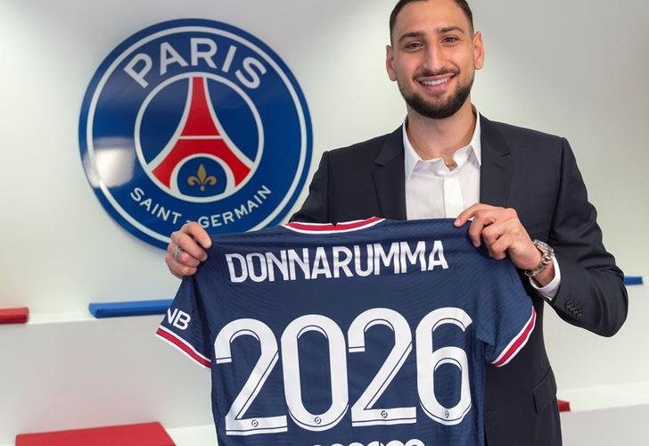 Paris Saint-Germain, Donnarumma transferini açıkladı