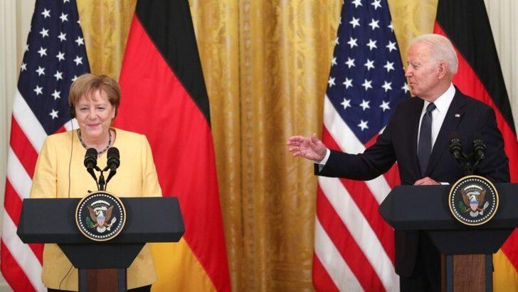 Biden ve Merkel'den Rusya ve Çin'e Karşı Birlik Vurgusu