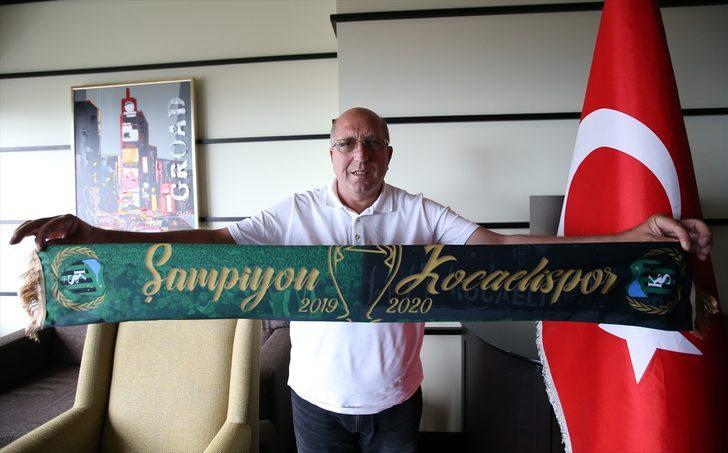 """Kocaelispor, """"Süper Lig'e çıkıp kalıcı olmak için"""" altyapısını güçlendiriyor"""