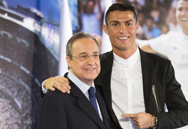 Real Madrid Başkanı Florentino Perez: Ronaldo tam bir embesil