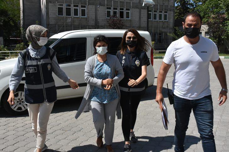 Samsun'da polis eşini öldüren kadın adliyede