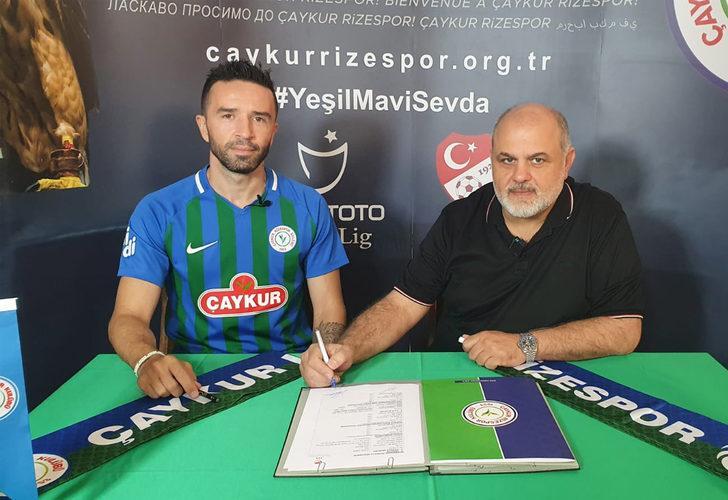Çaykur Rizespor, Gökhan Gönül'ü kadrosuna kattığını açıkladı