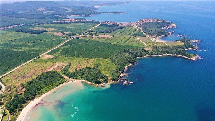 Karadeniz'in mavi bayraklı plajları tatilcileri bekliyor! Kandıra sezona hızlı başladı
