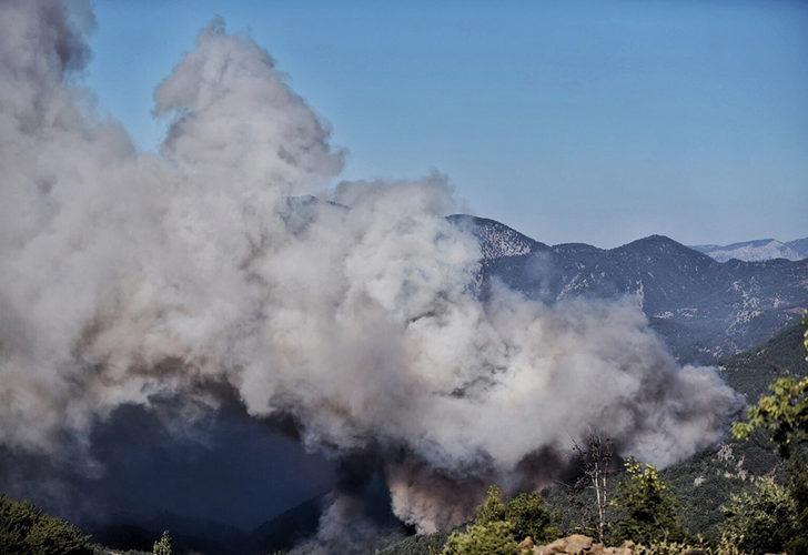 Mersin ve Hatay'daki yangında son durum! 3 gündür söndürülemiyor