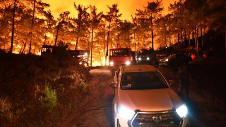 Mersin ve Hatay'daki Orman Yangınları Üçüncü Gününde