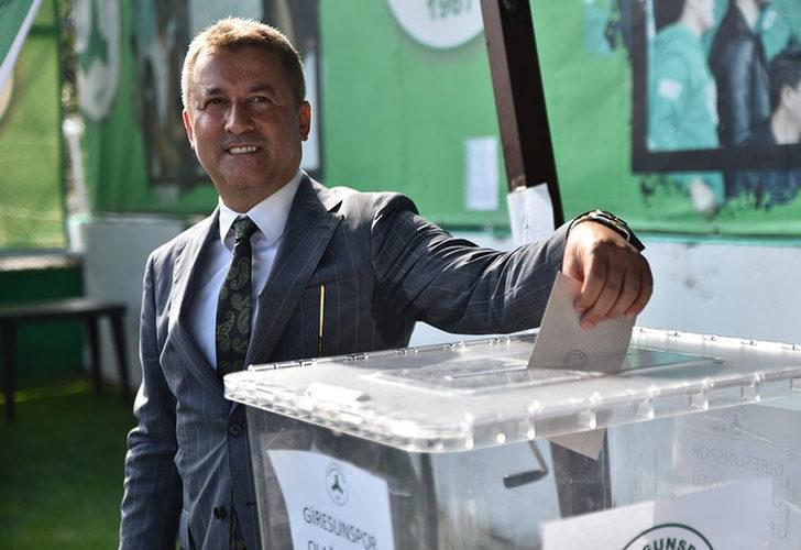 Giresunspor'da Hakan Karaahmet yeniden başkan