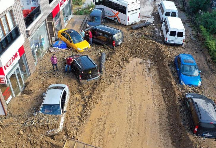 AFAD'dan Rize'deki sele ilişkin açıklama