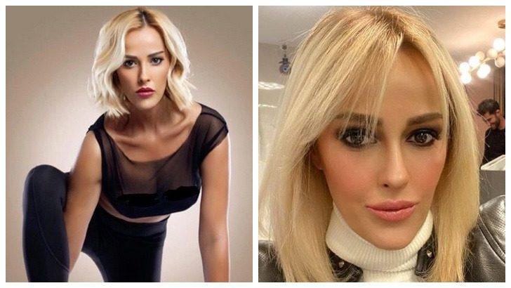 Helin Avşar'dan bikinili ve makyajsız pozlar