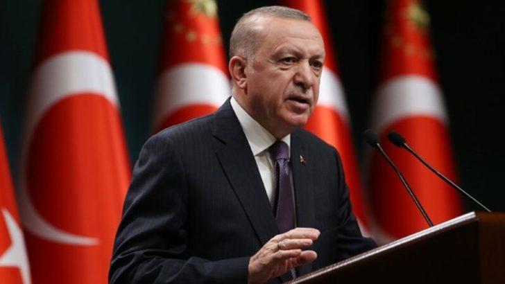 Erdoğan Kıbrıs'ta ''İki Devletli Çözüm''de Israrcı