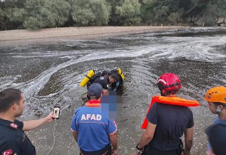 Bursa'da korkunç olay! Hamile eşinin gözü önünde boğuldu