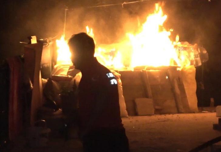 Kırıkkale'de bir evin balkonundaki tüp patladı