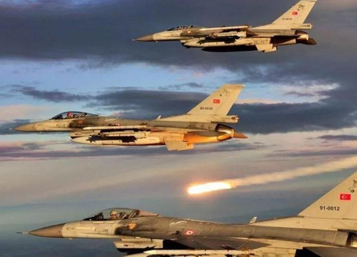 Türkiye'ye ait F-16'lar Polonya'da ilk alarm reaksiyon görevi gerçekleştirdi