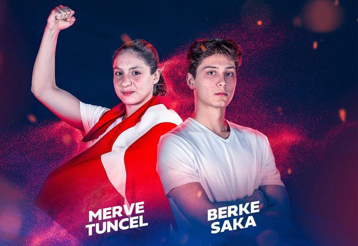Açılış töreninde Türk bayrağını Merve Tuncel ile Berke Saka taşıyacak