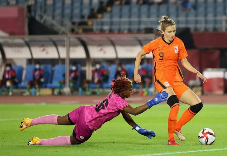 Hollanda, Zambiya'yı 10-3 mağlup etti!