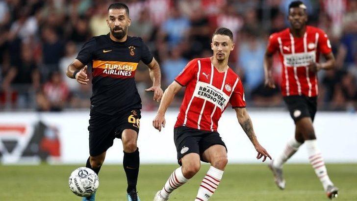 Galatasaray, Şampiyonlar Ligi 2. Eleme Turu ilk maçında PSV'ye 5-1 yenildi