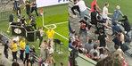 PSV - Galatasaray maçında gerilim! Saldırı girişimi...