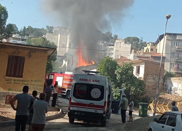 Helyum gazı bomba gibi patladı! Mahalleli sokağa fırladı