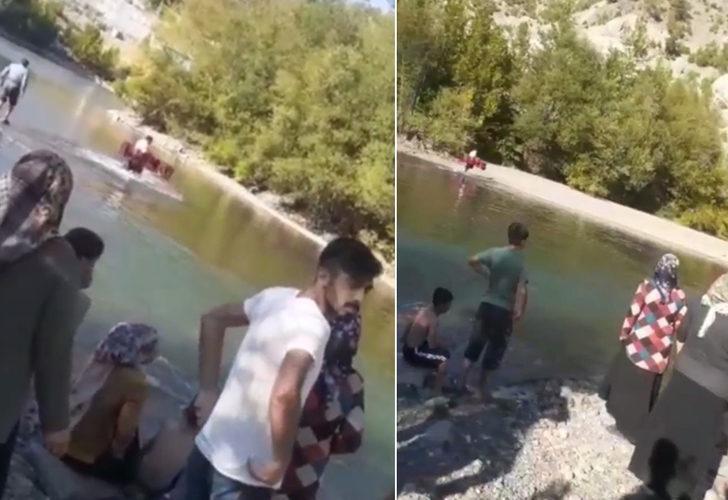 Çocuklarını kurtarmak için baraj göletine atlayan baba hayatını kaybetti