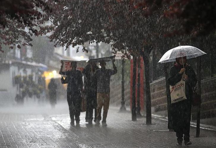 Meteoroloji'den Karadeniz bölgesi için kuvvetli yağış uyarısı (24 Temmuz hava durumu)