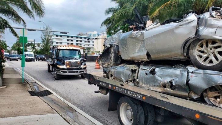 Florida'da Yıkılan Binada Çalışmalara Son Verildi