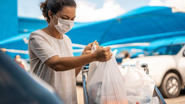 Artık yasak! Plastik poşetler...