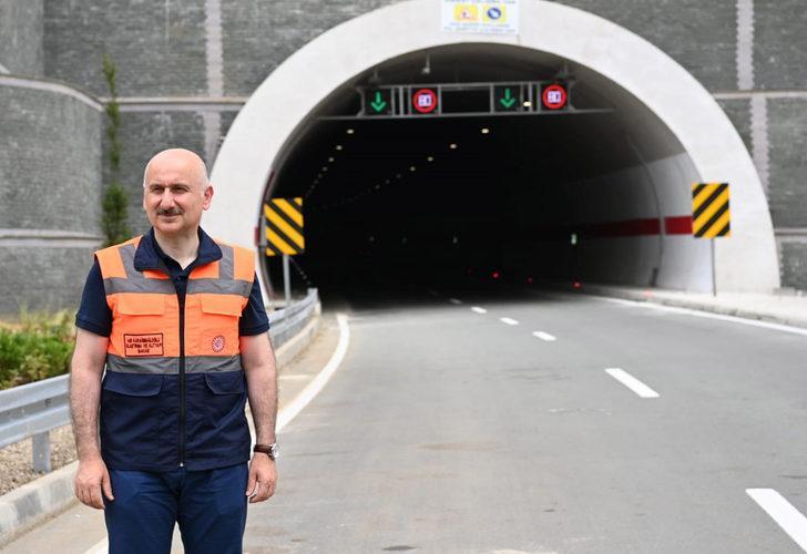 Bakan Karaismailoğlu'ndan Salarha tüneli açıklaması: 25 dakika kazanım sağlayacak
