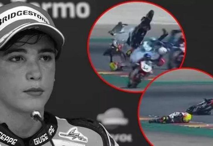 14 yaşındaki motosikletçi Hugo Millan hayatını kaybetti