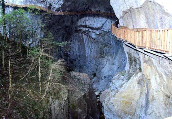 Kanyonlarıyla ünlü Pınarbaşı, nüfusunun 20 katı yerli ve yabancı turisti ağırladı