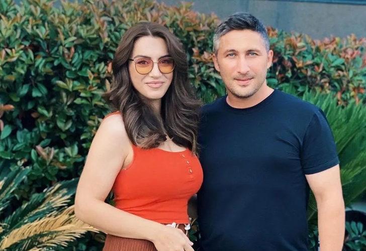 Sabri Sarıoğlu'nun eşi Yağmur Sarıoğlu'ndan Galatasaray'a gönderme!