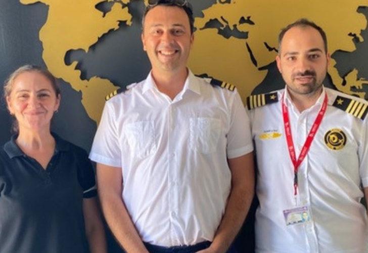 TRT'nin başarılı sunucusu pilot oldu! 'İstikbal göklerdedir...'