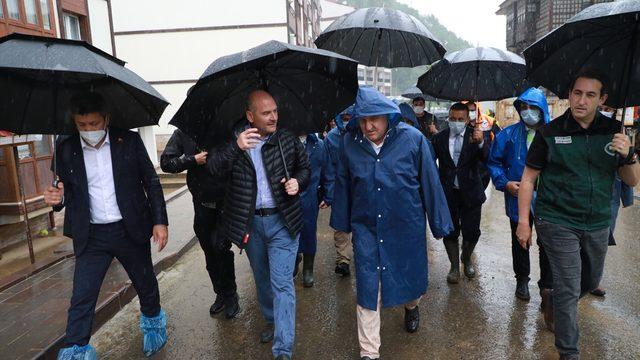 İçişleri Bakanı Süleyman Soylu, Arhavi'de ilçe halkına hitap etti: (1)