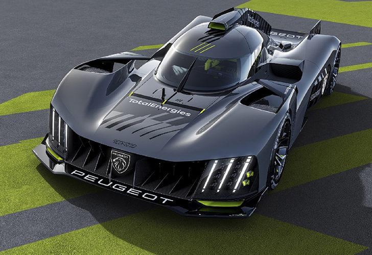 Peugeot'dan Le Mans yarışlarına özel otomobil